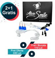 ALLURE SMILE 38% HP Kit Office- sistem de albire in cabinet (2+1 Gratis)