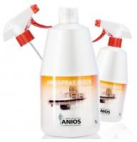 ANIOSPRAY QUICK dezinfectant suprafete cu actiune rapida - KIT 3L