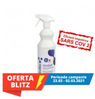 Virofex-ViroSurf ZERO 1L gata de utilizare -dezinfectant de suprafete solutie fara alcool