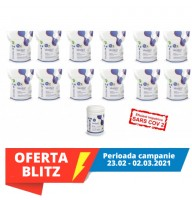 Virofex12 -ViroSurf SuperEconomic Pack servetele dezinfectante pentru suprafete (dispozitiv medical) -  12 pungi refill X 250buc+ tub gol (19 RON/100 servetele)