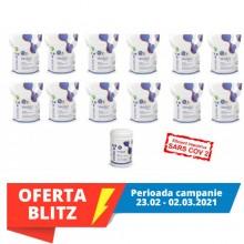Virofex12 -ViroSurf SuperEconomic Pack servetele dezinfectante pentru suprafete (dispozitiv medical) -  12 pungi refill X 250buc+ tub gol (19 RON/100 servetele)