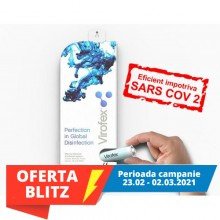 Virofex refill echivalent 5L- dezinfectant inovator de suprafete