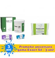 ExactSil Kit PROMO (Ideal pentru amprente de inalta precizie)  + 1 X Precious alginat