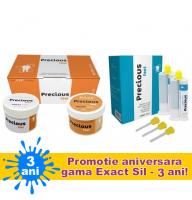 Precious KIT PROMO : Putty 2X300ml +LIGHT fast 2X50 ml (silicon de aditie)