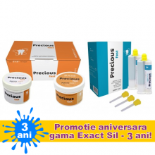 Precious KIT PROMO : Putty 2X300ml +LIGHT fast 2X50 ml (silicon de aditie)