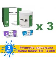 OFERTA - 3 X ExactSil Kit (Ideal pentru amprente de inalta precizie) acum intr-un nou ambalaj