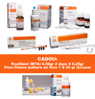 PACHET PROMO ENDO 1: CresoTin (analog Rockle's) + EDTAle gel 20% + CalceTin Endo + Antiseptic lichid nr 2 (analog Parcan) concentratie 3 % - 100ml + Eugetin (analog Endomethasone)
