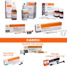 PACHET PROMO ENDO 1: CresoTin (analog Rockle's) + EDTAle gel 20% + CalceTin Endo + Antiseptic lichid nr 2 (analog Parcan) concentratie 3 % - 100ml + Eugetin (analog Endomethasone)