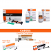 PACHET PROMO RESTAURATIV 3: ReLight Kit 4 seringi compozit nano+Travlin - BONUS stand Tehnodent + GlassyCem - Varnish (lac protector) + GlassyCem - Dentin conditioner