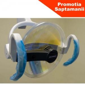 Protectie -invelitoare adeziva pentru MANERELE LAMPII unitului dentar (1200 buc) albastra