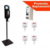 PROMO Diversey kit dezinfectant de maini : Stand cu picior +Dispenser automat cu senzor + 4 X SoftCare Med (biocid) rezerva 1,3 L