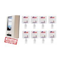 PROMO Diversey8 dezinfectant de maini (biocid)  : 8 X SoftCare Med rezerva 1,3 L + BONUS : Dispenser IntelliCare cu Senzor
