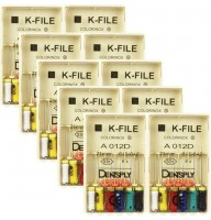 Ace H /K files Maillefer -Densply  OFERTA 6 + 1 gratis