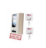 Diversey kit dezinfectant de maini : Dispenser automat cu senzor + 2 X SoftCare Med (biocid) rezerva 1,3 L