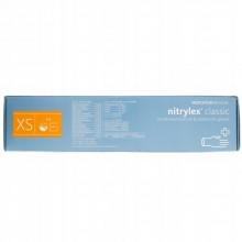 Manusi nitril Nitrylex marime XS - culoare albastru - cutie  X 200 buc -LOT 2020