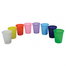 Pahare plastic set 100 bucati
