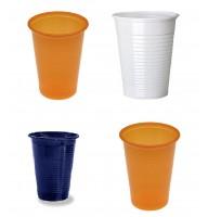 Pahare plastic set 200 bucati - Color Mix