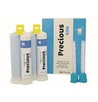 Precious Bite inregistrarea ocluziei 2X50 ml (silicon de aditie vascozitate redusa)