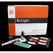 PROMO ReLight Kit 6 seringi compozit nano - BONUS stand Tehnodent
