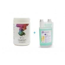 Virofex -QUANTUM dezinfectant pulbere cromatic + BONUS : dezinfectant pentru aspirator