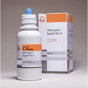 Antiseptic lichid nr 2  (analog Parcan) concentratie 3 % - 100ml