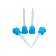 Canule(varfuri) amestec raport 1:1 (punga 10 bucati) -albastre