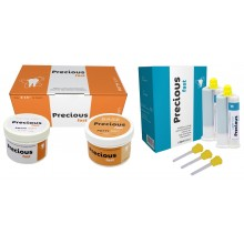 Precious KIT: Putty 2X300ml +LIGHT fast 2X50 ml (silicon de aditie)